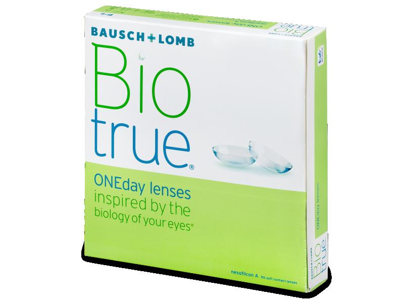 Biotrue ONEday (90šošoviek) - Jednodenné kontaktné šošovky