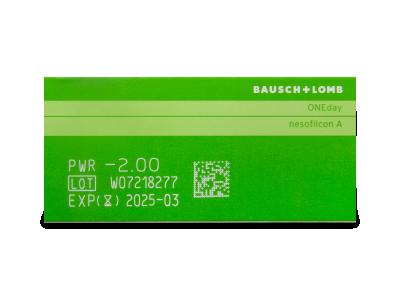 Biotrue ONEday (90šošoviek) - Náhľad parametrov šošoviek