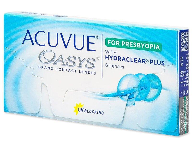 Acuvue Oasys for Presbyopia (6 šošoviek) - Multifokálne kontaktné šošovky - Johnson and Johnson