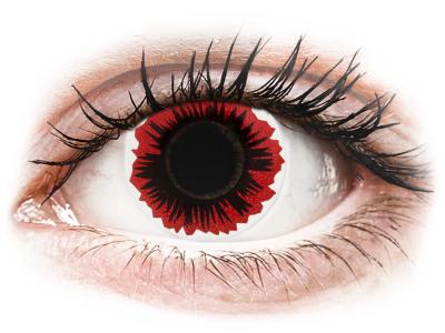 ColourVUE Crazy Lens - Blaze - nedioptrické (2 šošovky)