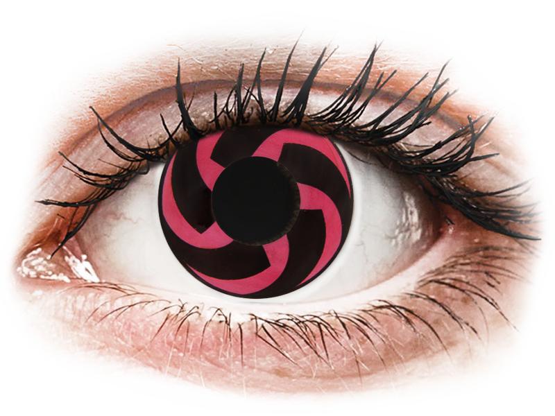 CRAZY LENS - Haku - nedioptrické jednodenné (2 šošovky) - Coloured contact lenses
