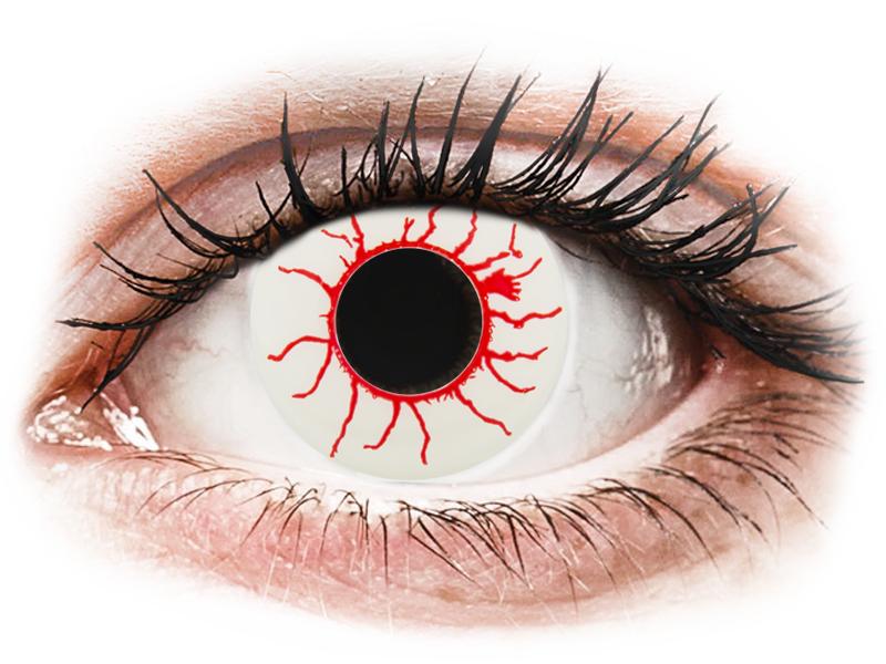 CRAZY LENS - Red Viper - nedioptrické jednodenné (2 šošovky) - Coloured contact lenses