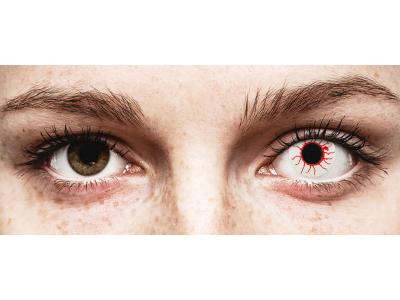 CRAZY LENS - Red Viper - nedioptrické jednodenné (2 šošovky)