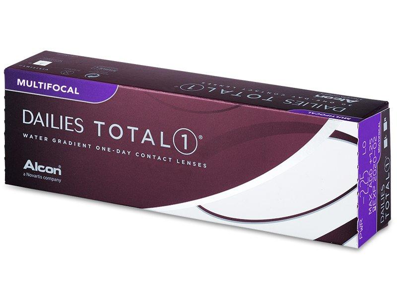 Dailies TOTAL1 Multifocal (30 šošoviek) - Jednodenné kontaktné šošovky - Alcon