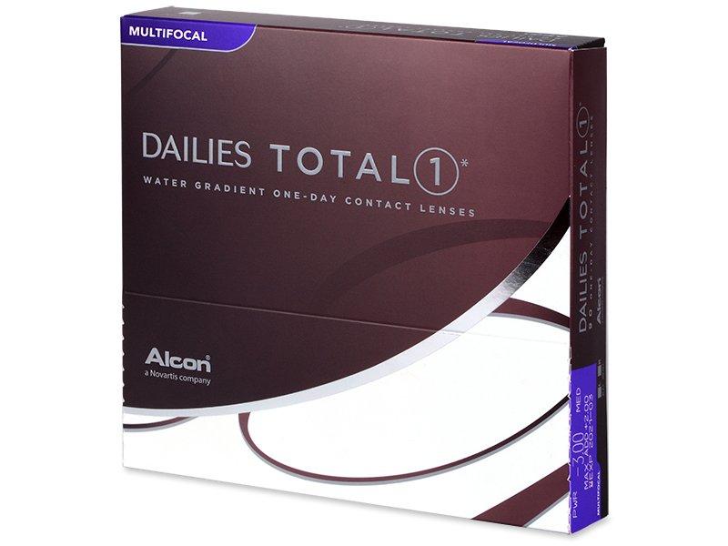 Dailies TOTAL1 Multifocal (90 šošoviek) - Multifokálne kontaktné šošovky - Alcon