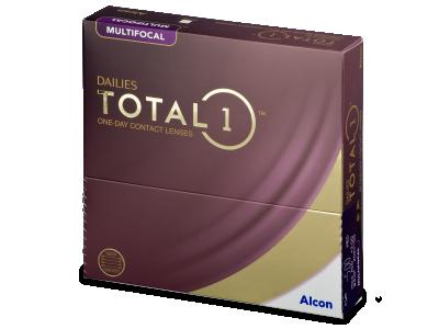 Dailies TOTAL1 Multifocal (90 šošoviek)