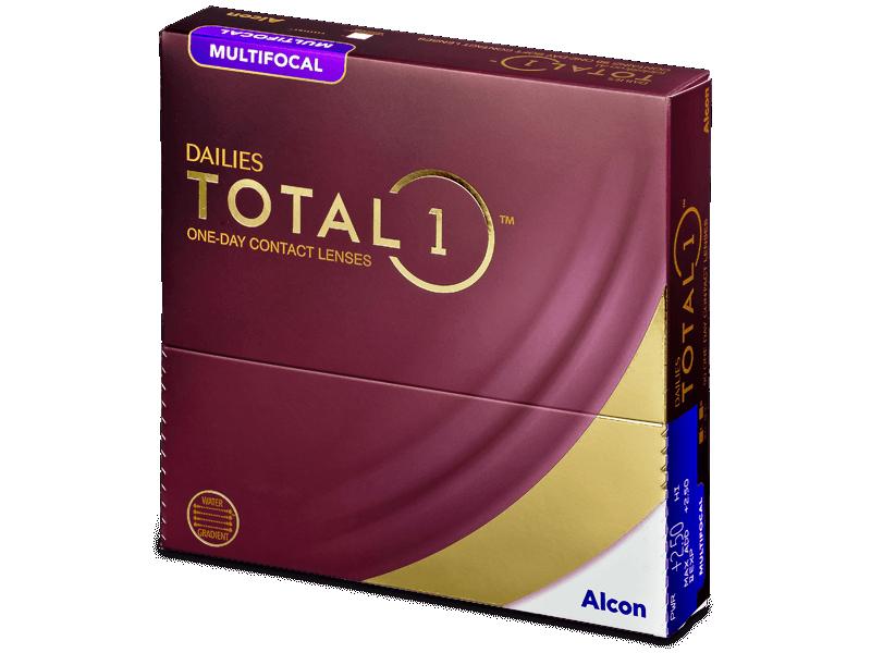 Dailies TOTAL1 Multifocal (90 šošoviek) - Multifokálne kontaktné šošovky