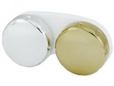 Príslušenstvo - Zrkadlové puzdro na šošovky - zlaté