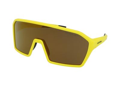 Slnečné okuliare Alpina Ram HM+ Pineapple Matt/Gold Mirror