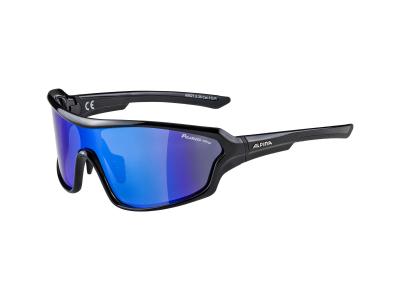 Slnečné okuliare Alpina Lyron Shield P Black/Blue Mirror