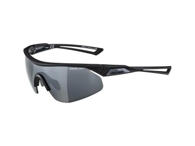 Slnečné okuliare Alpina Nylos Shield Black Matt/Black Mirror