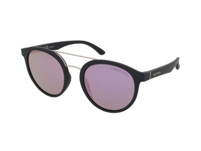 Slnečné okuliare Alpina Caruma II Black Matt/Rose Gold Mirror