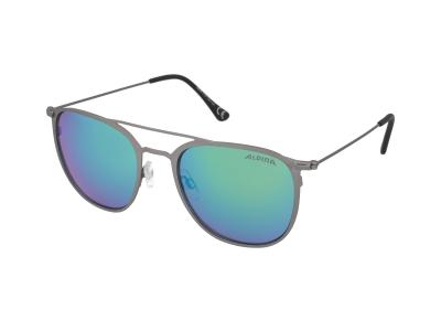 Slnečné okuliare Alpina Zuku Gun Matt/Green Mirror