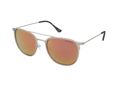 Slnečné okuliare Alpina Zuku Silver Matt/Rose Gold Mirror