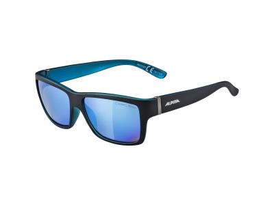 Slnečné okuliare Alpina Kacey Black Matt Blue/Blue Mirror