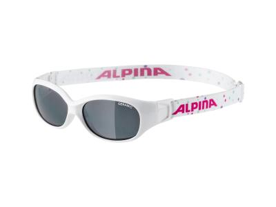 Slnečné okuliare Alpina Sports Flexxy Kids White Dots