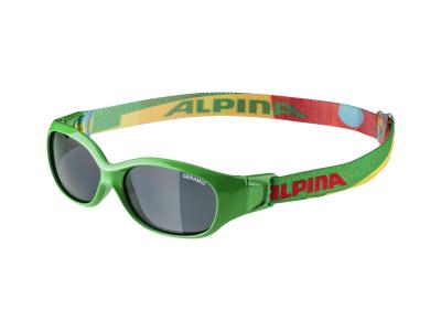 Slnečné okuliare Alpina Sports Flexxy Kids Green Puzzle