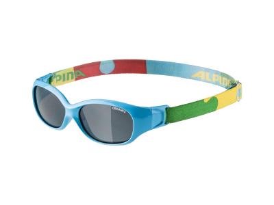 Slnečné okuliare Alpina Sports Flexxy Kids Cyan Puzzle