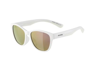 Slnečné okuliare Alpina Flexxy Cool Kids II White/Pink Mirror