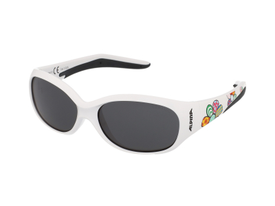 Slnečné okuliare Alpina Flexxy Kids White Flower