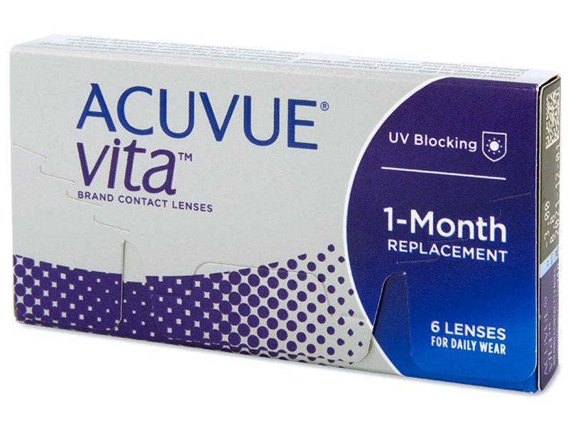Acuvue Vita (6 šošoviek) - Mesačné kontaktné šošovky - Johnson and Johnson
