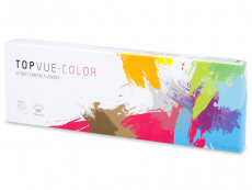 Kontaktné šošovky - TopVue Color - dioptrické denné (10 šošoviek)