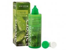 Roztoky na kontaktné šošovky - Roztok Alvera 350 ml