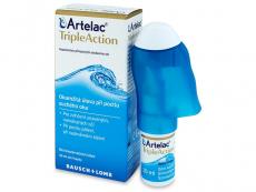 Kontaktné šošovky - Artelac TripleAction 10 ml