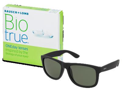 Slnečné okuliare Biotrue ONEday (90 šošoviek) + slnečné okuliare Alensa ZADARMO