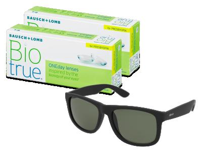 Biotrue ONEday for Presbyopia (2x 30 šošoviek) + slnečné okuliare Alensa ZADARMO
