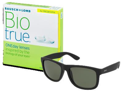 Biotrue ONEday for Presbyopia (90 šošoviek) + slnečné okuliare Alensa ZADARMO