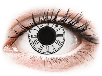 CRAZY LENS - Clock - nedioptrické jednodenné (2 šošovky)