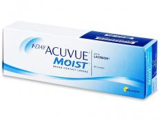 Kontaktné šošovky - 1 Day Acuvue Moist (30šošoviek)