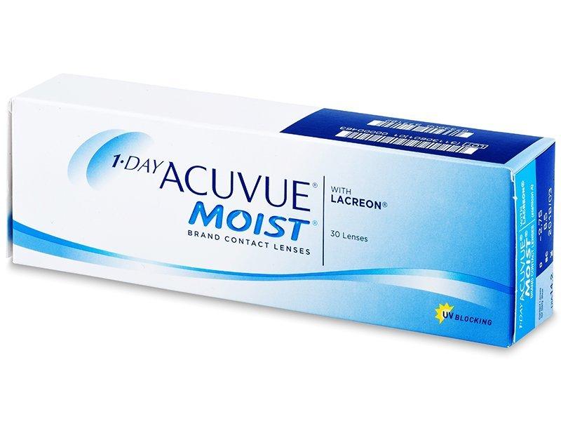 1 Day Acuvue Moist (30šošoviek) - Jednodenné kontaktné šošovky - Johnson and Johnson
