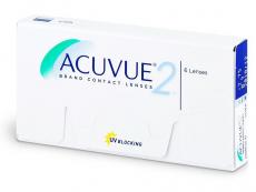 Kontaktné šošovky Johnson and Johnson - Acuvue 2 (6šošoviek)