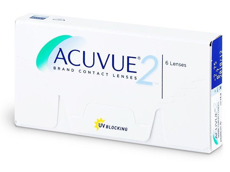 Acuvue 2 (6šošoviek) - Štrnásťdenné kontaktné šošovky - Johnson and Johnson