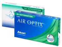 Air Optix for Astigmatism (3šošovky) - Torické kontaktné šošovky