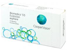 Kontaktné šošovky Cooper Vision - Biomedics 55 Evolution (6šošoviek)