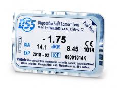 Mesačné kontaktné šošovky - D55 WILENS (1šošovka)