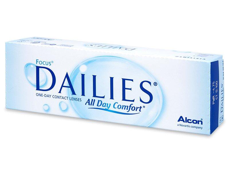 Focus Dailies All Day Comfort (30šošoviek) - Jednodenné kontaktné šošovky