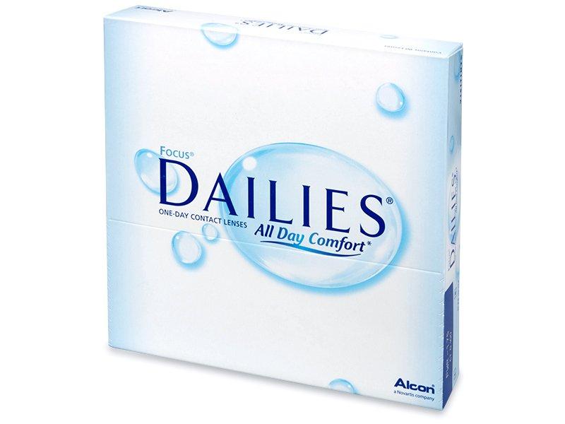 Focus Dailies All Day Comfort (90šošoviek) - Jednodenné kontaktné šošovky