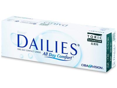 Focus Dailies Toric (30šošoviek) - Torické kontaktné šošovky