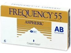 Kontaktné šošovky Cooper Vision - Frequency 55 Aspheric (6šošoviek)