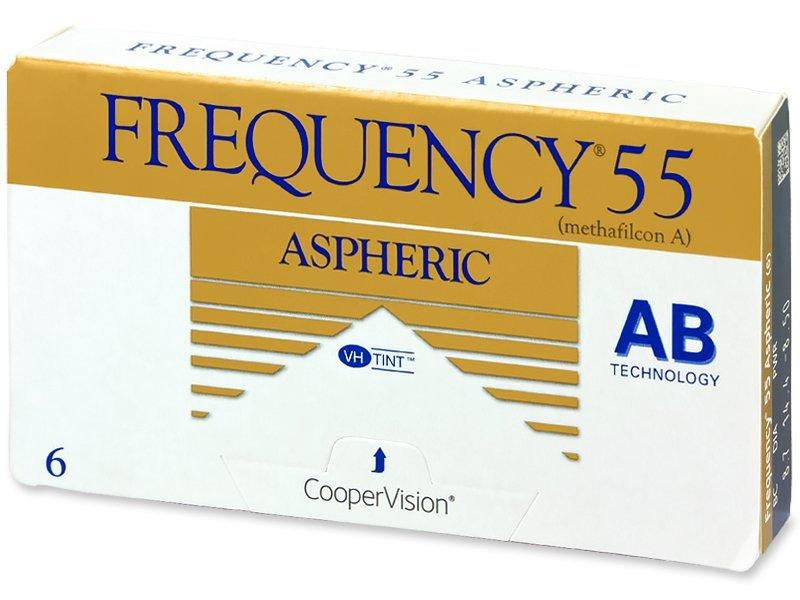 Frequency 55 Aspheric (6šošoviek) - Mesačné kontaktné šošovky - Cooper Vision