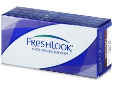 Farebné kontaktné šošovky - FreshLook ColorBlends  - dioptrické (2šošovky)