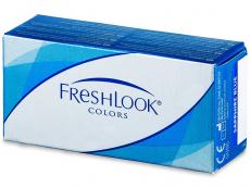 Farebné kontaktné šošovky - FreshLook Colors - dioptrické (2šošovky)