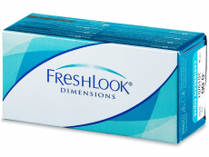 Farebné kontaktné šošovky - FreshLook Dimensions - nedioptrické (2šošovky)