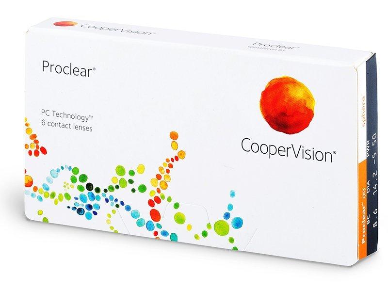 Proclear Compatibles Sphere (6šošoviek) - Mesačné kontaktné šošovky - Cooper Vision