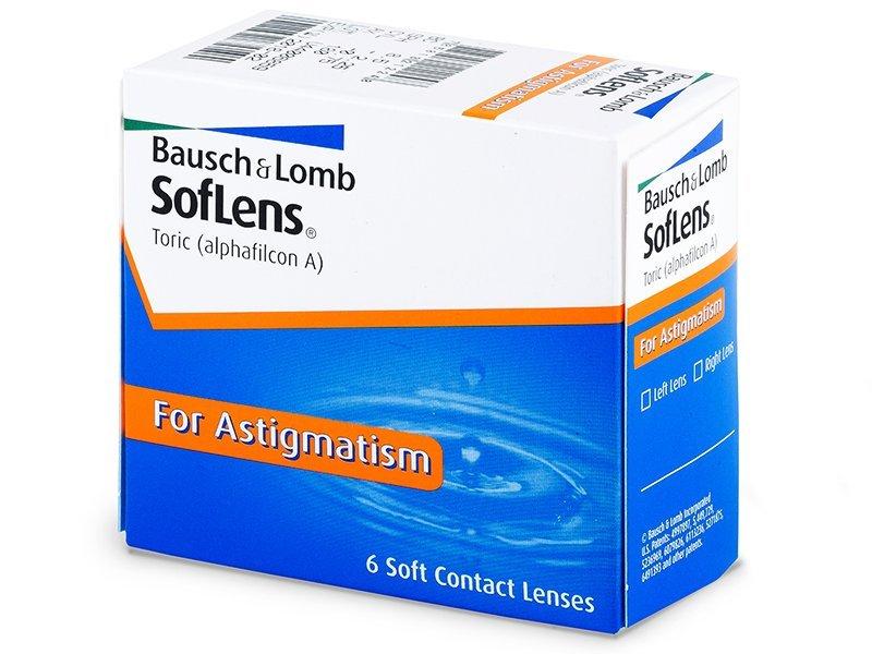SofLens Toric (6šošoviek) - Torické kontaktné šošovky - Bausch and Lomb