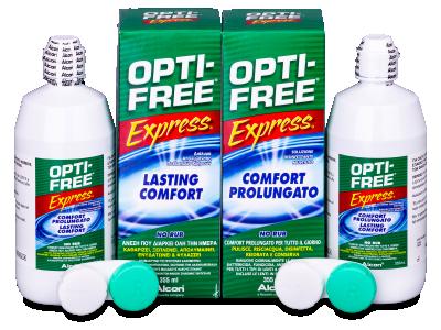 OPTI-FREE Express 2 x 355 ml  - Starší vzhľad
